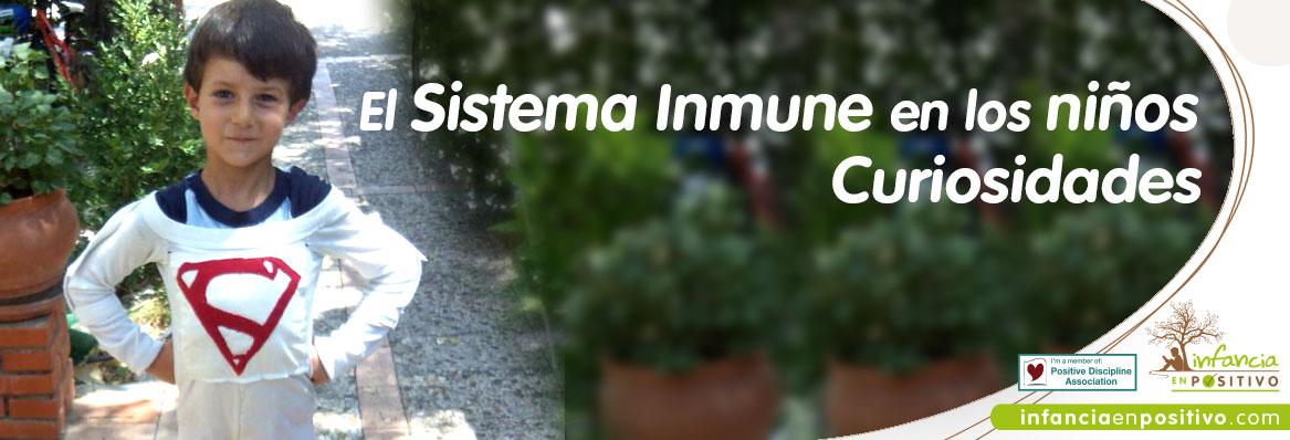 Sistema Inmune de los más pequeños