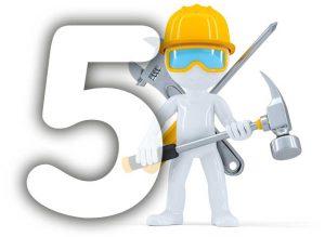 Los 5 Constructores