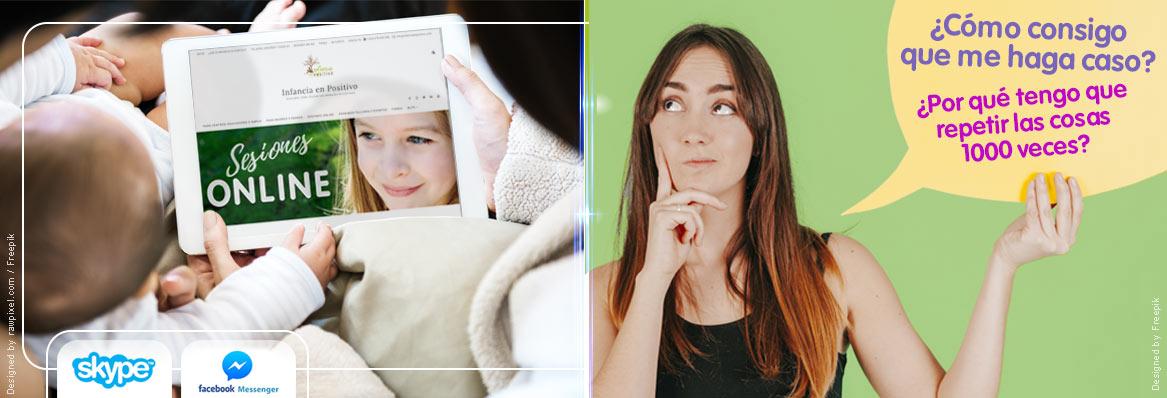 Sesiones online de Ayuda a madres y padres