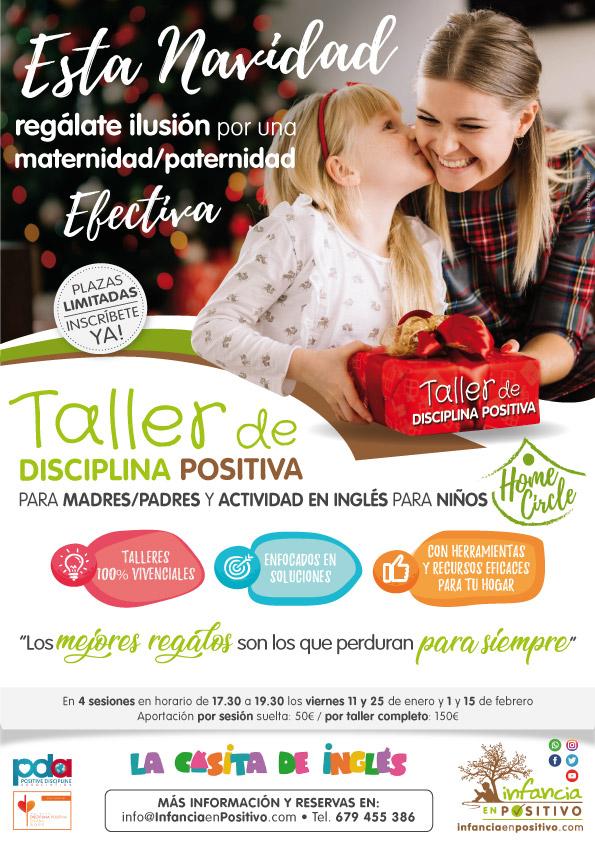 Taller de Disciplina Positiva con actividades en inglés para los niños