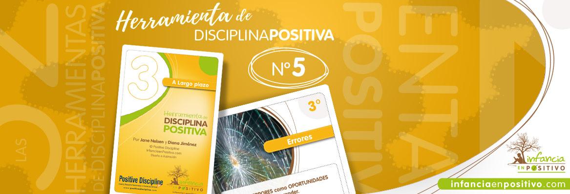 Las 52 Herramientas de Disciplina Positiva - Errores