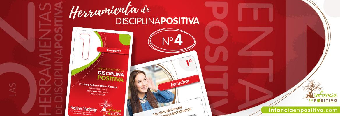 Las 52 Herramientas de Disciplina Positiva - Escuchar