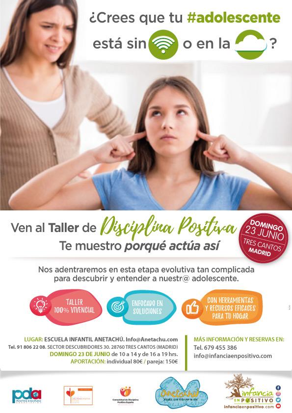 TALLER DE ADOLESCENTES EN TRES CANTOS