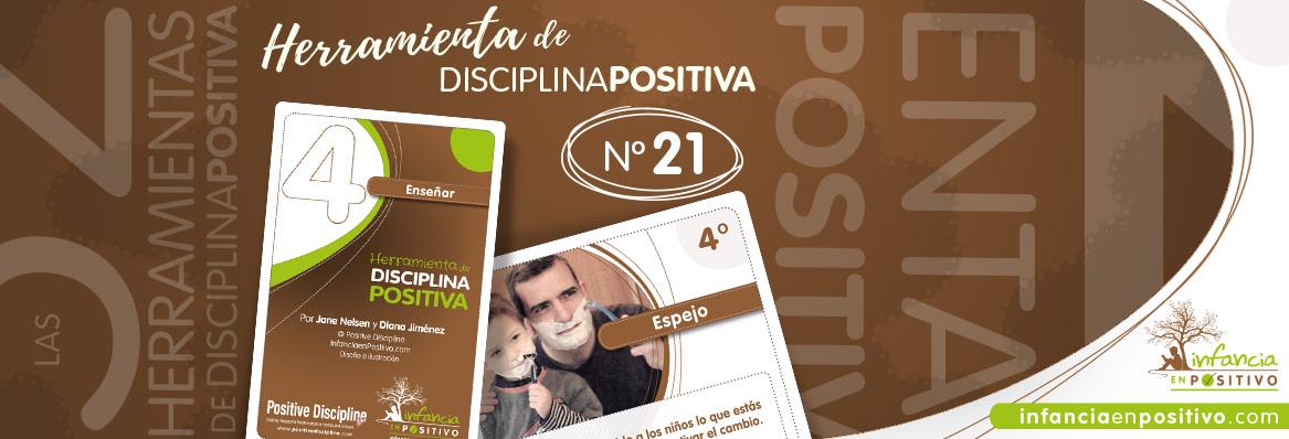 Herramienta de disciplina positiva: Espejo