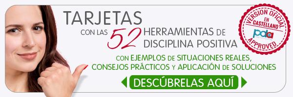 Tarjetas 52 Herramientas de Disciplina Positiva de Jane Nelsen