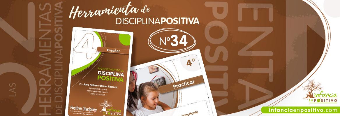 Herramienta de disciplina positiva: Practicar