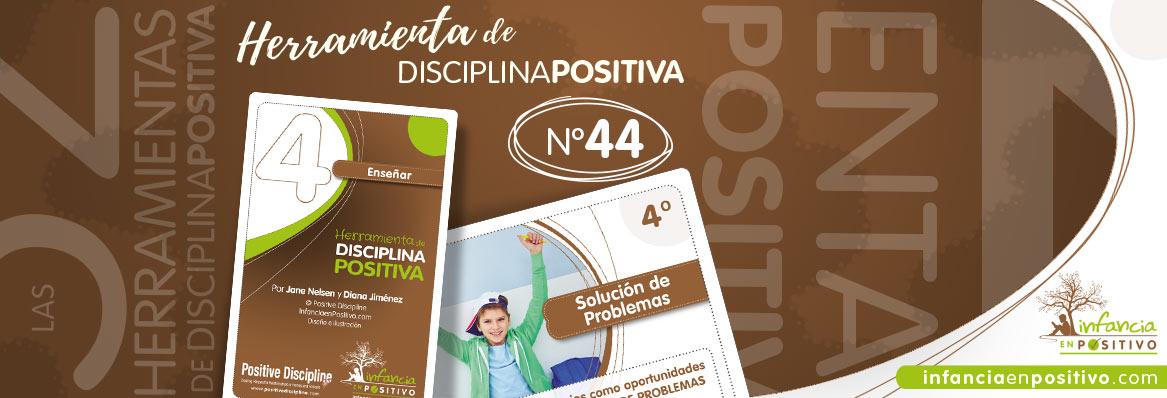 Herramienta de disciplina positiva: Solución de problemas