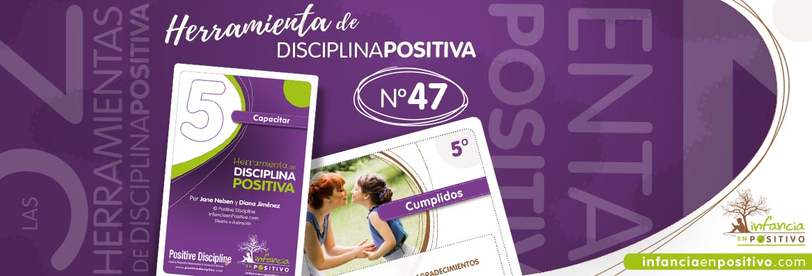 Herramienta de disciplina positiva: Cumplidos