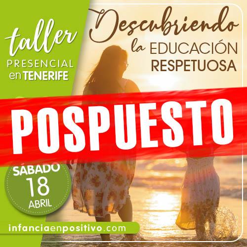 Taller de Disciplina Positiva en Tenerife